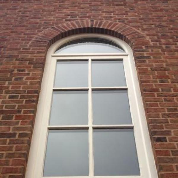 Rounded window