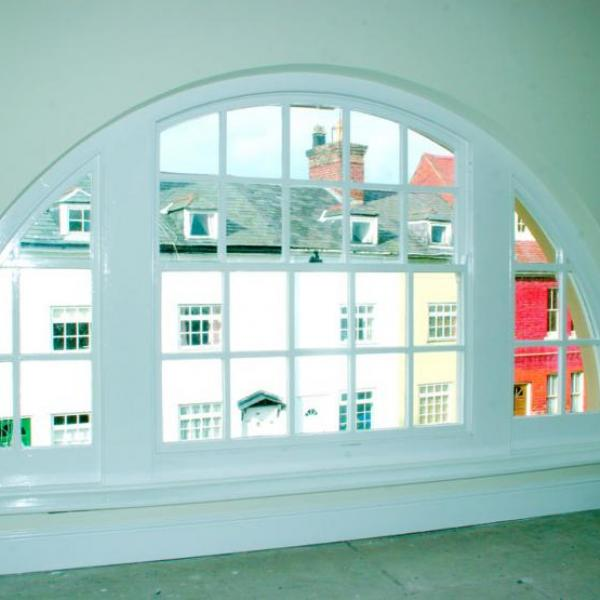 Oval bespoke window